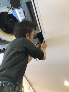 既設冷媒配管と室内機を繋ぐ
